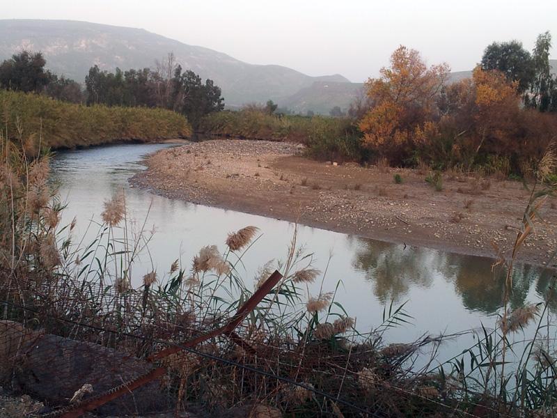 זרימת נהר הירמוך