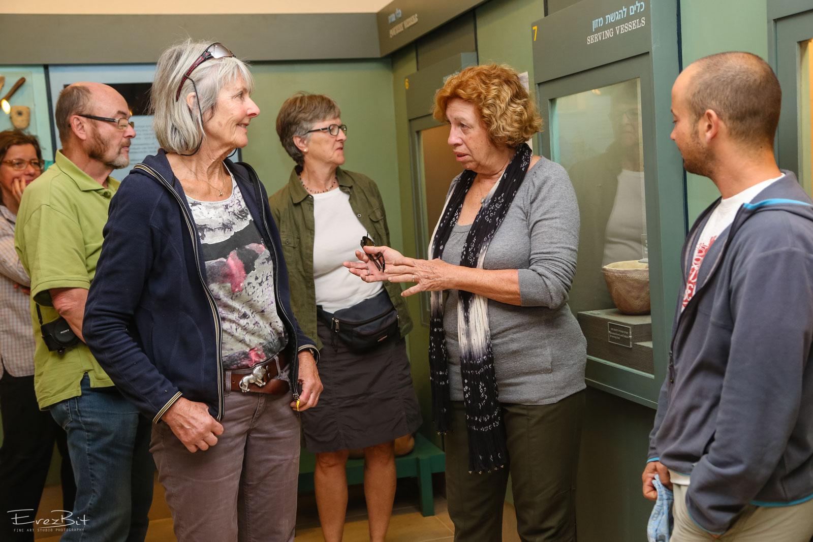 סיור תיירים במוזיאון