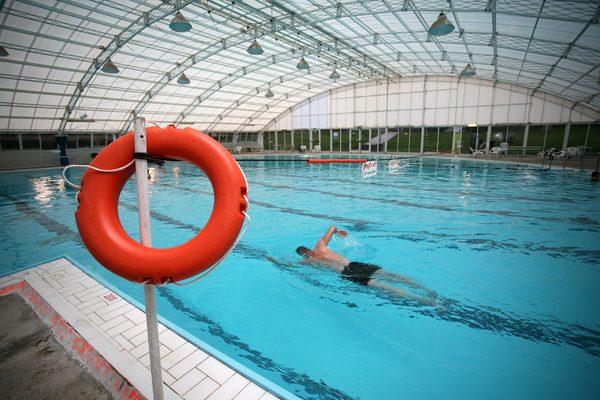 בריכת השחייה